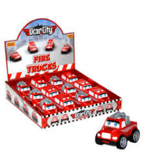Ucar City 210. Coche bombero push and go. Modelo aleatorio.