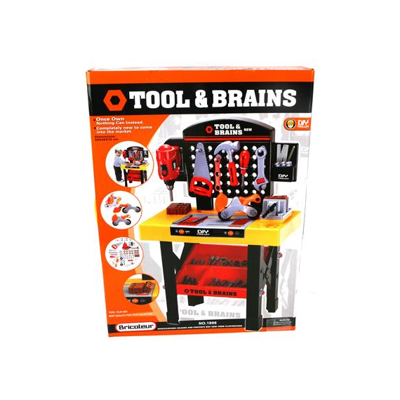 Tool & Brains 416-1896. Work bench for children.