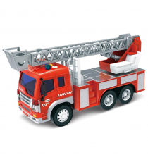 Fire truck 341-0350. Truck with sounds and lights.