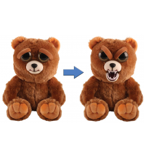 Feisty Pets 32321. Soft toy. Brown bear