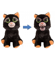 Feisty Pets 32325. Soft toy. Black cat.