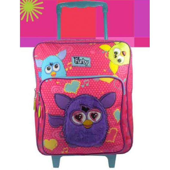 Furby Mochila Big Love grande measures 42x28x13cm.