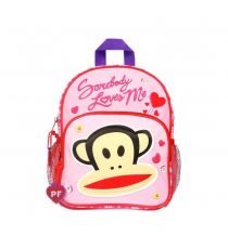 Paul Frank Someone loves me! 470-5720. Backpack 29x22x6. Pink colour
