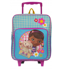 Doc Mc Stuffins. 184-5771. Backpack with trolley measures 35x28x12cm.