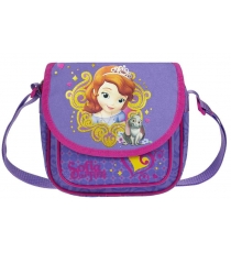 Shoulder bag with front pocket Princesa Sofia