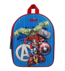 Marvel - Avengers 3D Backpack Foes Fight the measures 31x25x12 cm.