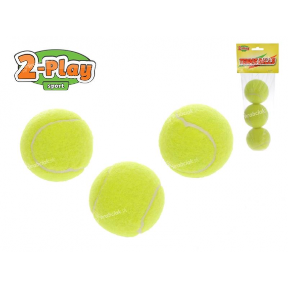 2-Play Sport 700094. Balles de tennis.