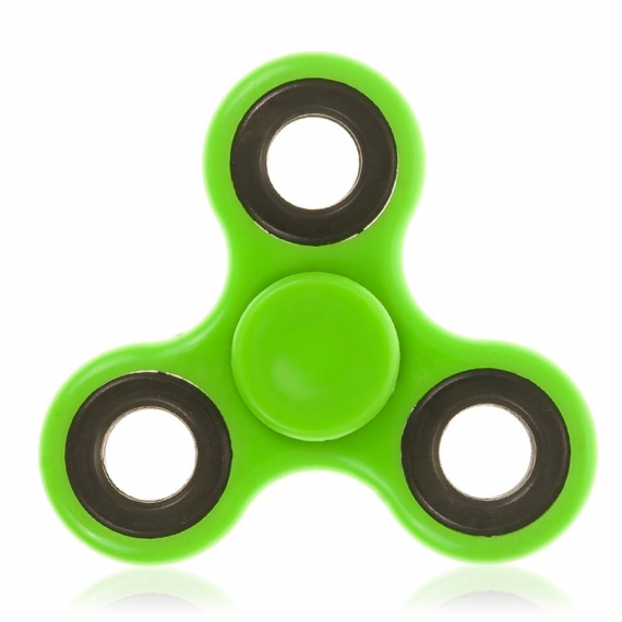 Extreme Spinner 5857. Fidget Spinner di colore verde.