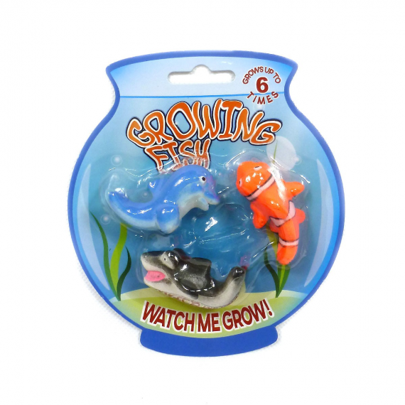 Growing fish 620654. Pack of 3 fish.
