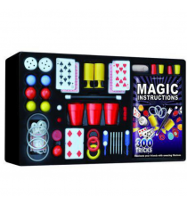 Magic HM4602. Box with 300 tricks and DVD.
