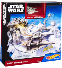 Hot Wheels Star Wars CGN34. Playset Hoth Base Battle
