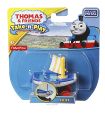Thomas & Friends CGT020. Take-n-Play. Locomotora - Skiff.