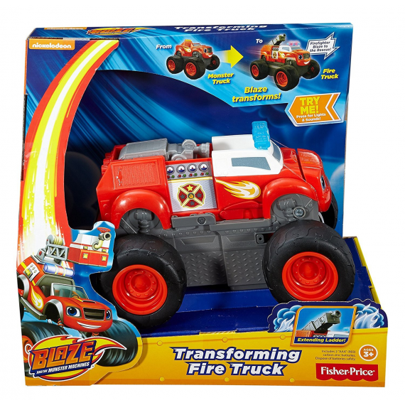 "Blaze and the Monster Machines DGK58. Camión ""Transforming Fire Truck"""