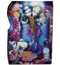Monster High DHB47 - Muñeca Peri & Pearl Serpentine