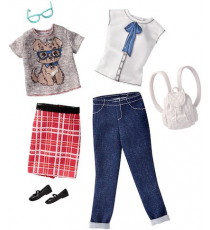 Barbie FCT81. Look Fashion. Pack 2 cambios de ropa