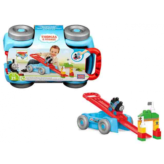 Mega Bloks DXH57. Thomas & Friends. Train racing wagon