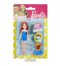 Barbie FDY05. Doll and accessories. Los Angeles.