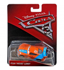 "Hot Wheels FGD66. Cars 3. Personaje Ryan ""Inside"" Laney."