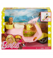 Barbie FRP56. Barbie e la sua moto rosa.