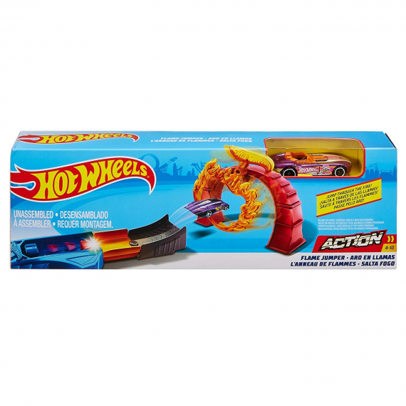 Hot Wheels FTH81. Piste de flamme