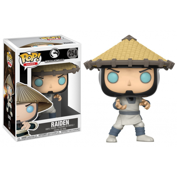 Funko Pop! 21711. Mortal Kombat X: Raiden