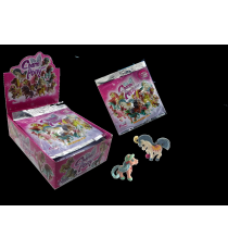 Charm Pony 2499A. Figuras Poni. Display 10 sobres.