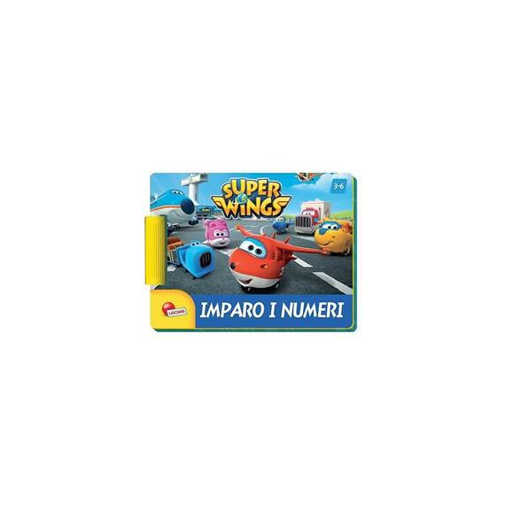 Super Wings 09030. Number game book
