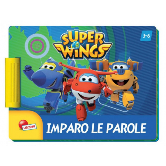 Super Wings - Word game book 09047