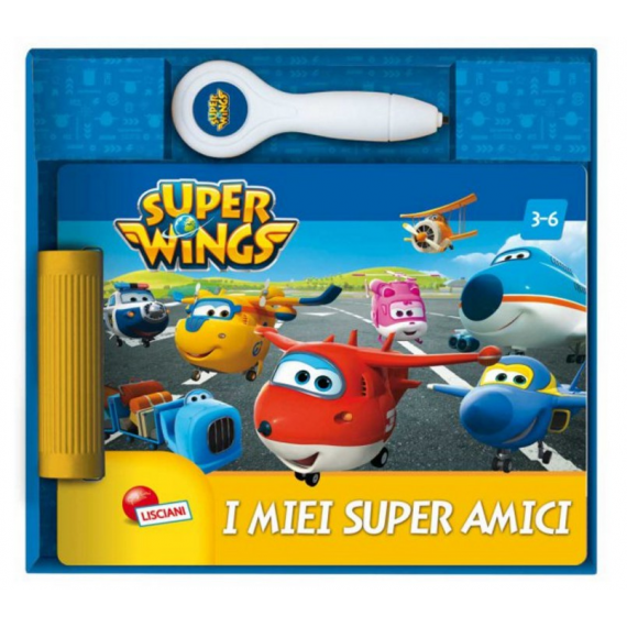 Super Wings - Super friend book elettronico 09085