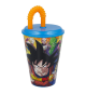 Dragon Ball 20730. Vaso con caña 430ml.