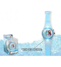 Frozen 2 WD17490. Reloj con luces LED.