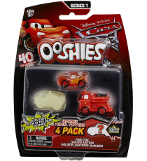 BIZAK OOSHIES CARS PACK 4 PERSONAJES