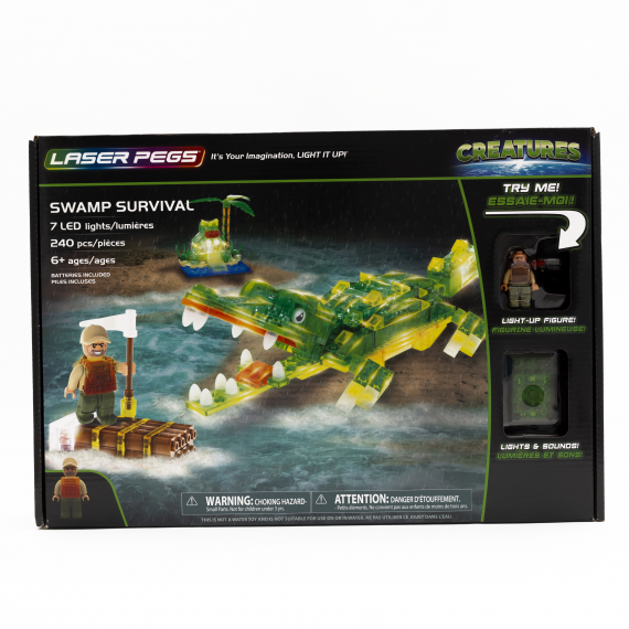 LASER PEGS 18405 SWAMP SURVIVAL