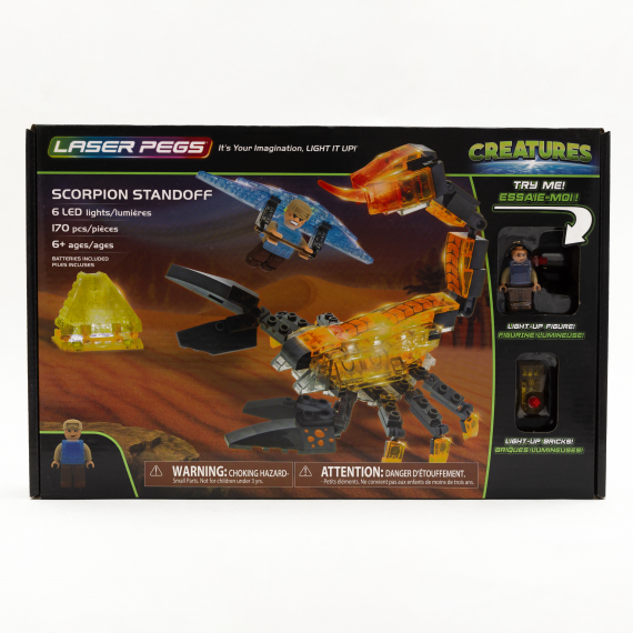 LASER PEGS 18402 ESCORPION